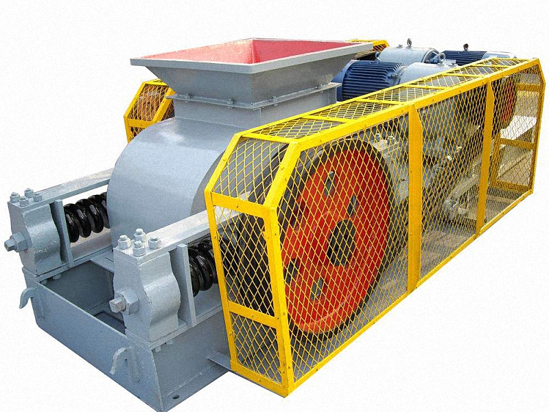 How much the 850 double roller crusher for cement block?