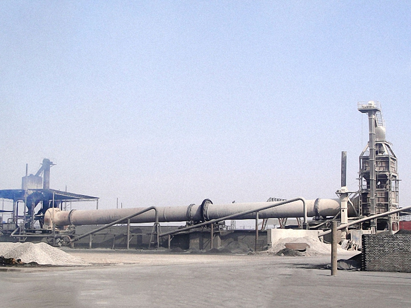 Zinc oxide rotary kiln production process (direct method) and calcination process
